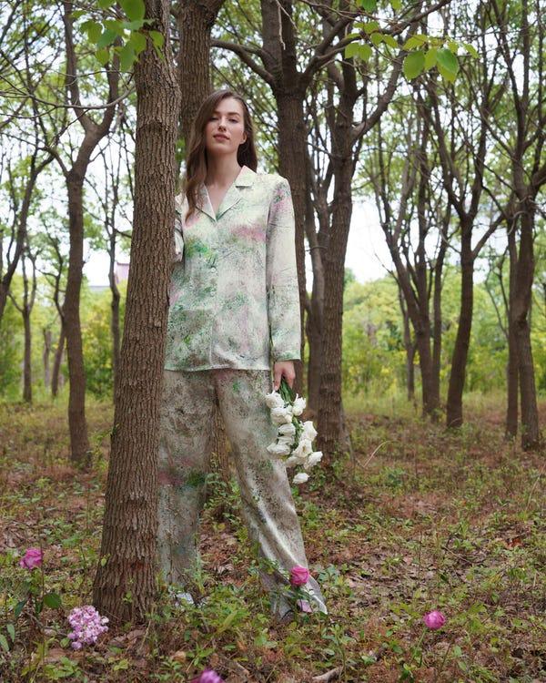19匁シルク枕カバー 【額縁無し】【封筒式】