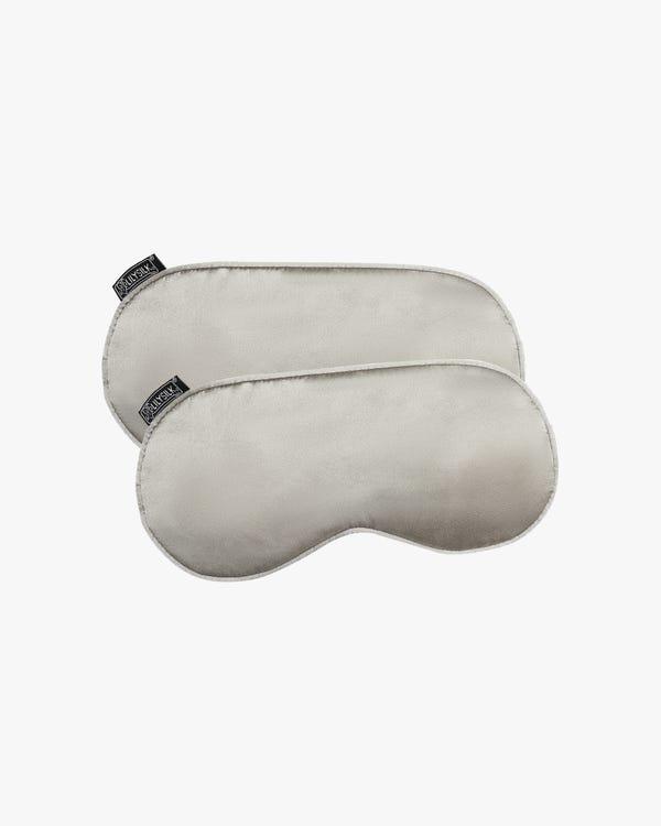 2 Pack Silk Sleep Eye Mask With Wide Elastic Band