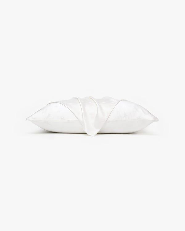 星柄ジャカード シルク枕カバー「隠しファスナー」-hover