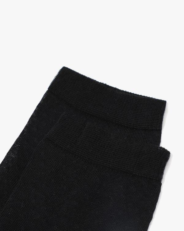 レディーズ超極細メッシュニット アンクレット靴下