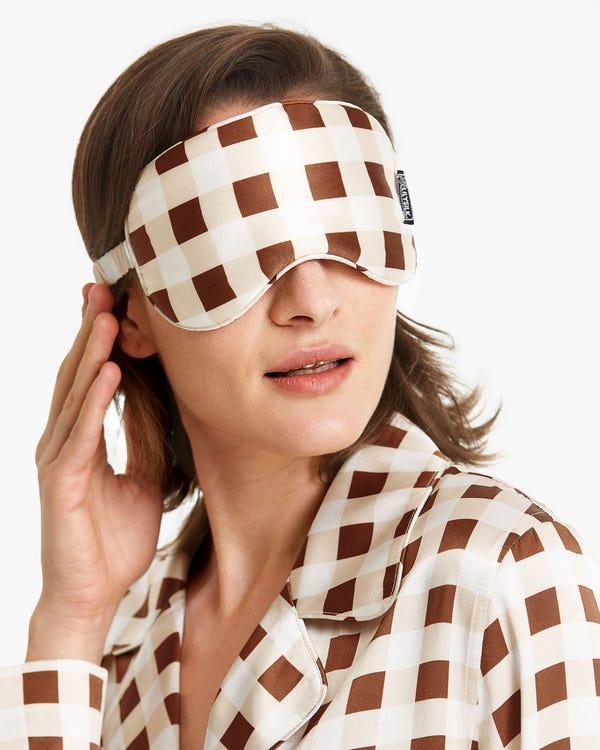 シルクお休みアイマスク 目隠しマスク