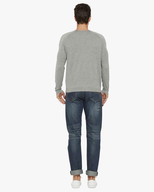 メンズ シルク カシミア セーター