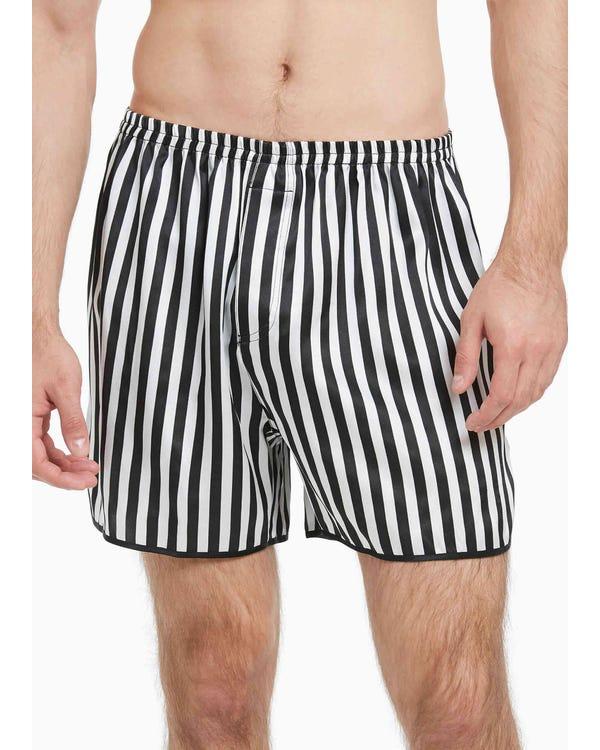 【パンツのみ】【22匁】メンズ クラシック シルク シルクパンツ【ボックサーパンツ】
