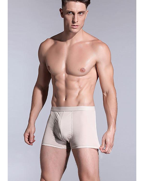 メンズ 無地シンプル ボクサートパンツ通気性抜群 吸水速乾 アンダーウェア 男性下着 着心地よい 保温保湿