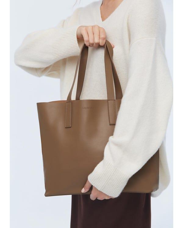 上質レザーバッグ手袋