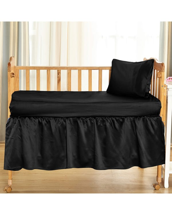 25匁ベビー用シルクベッドスカート