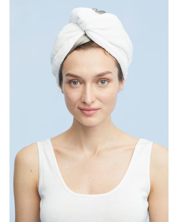 Practical Fast Drying Hair Silk Cap