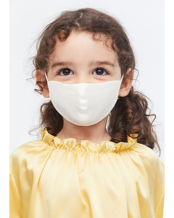 Double Layer Silk Face Mask For Kids