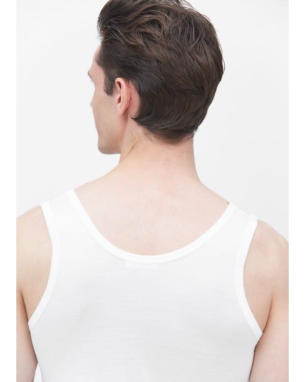メンズ タンクトップ サテン100%上着ノースリーブ春夏 通気性抜群 極上の肌触り スポーツ ジョギング薄着 パジャマ ナイトウエア ルームウエア
