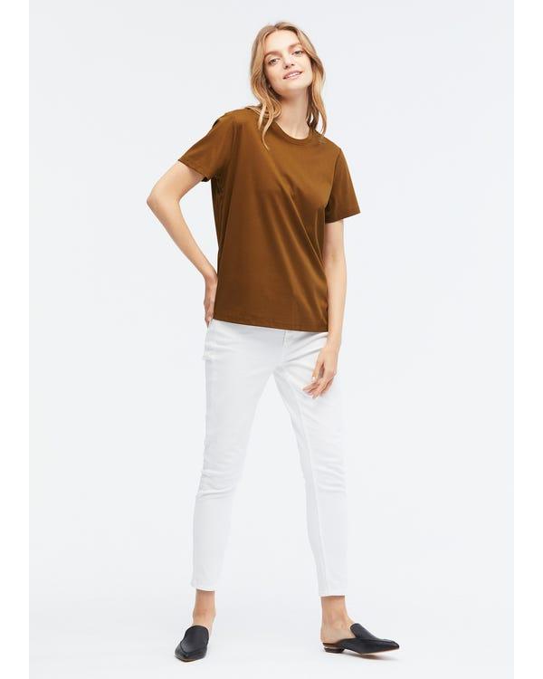定番 シルク コットン Tシャツ-hover