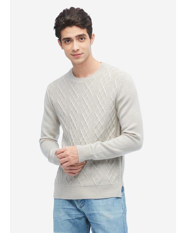 紳士 アーガイル ニット カシミア メンズ セーター