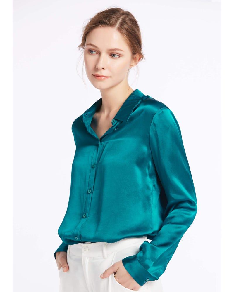 Basic Military Silk Shirt
