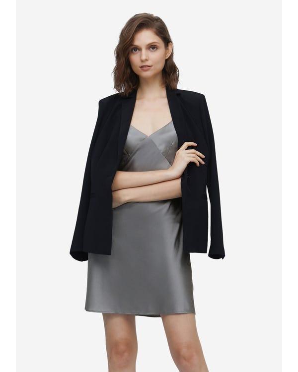 Elegant Summer Silk Slip Dress
