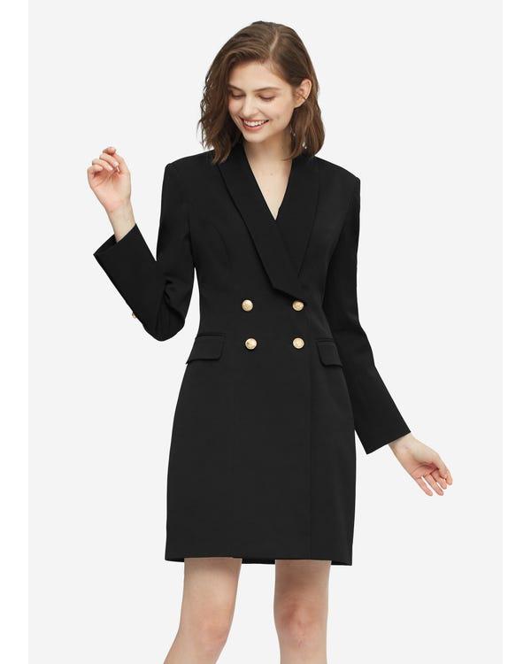 Timeless Silk Lined Dress Blazer
