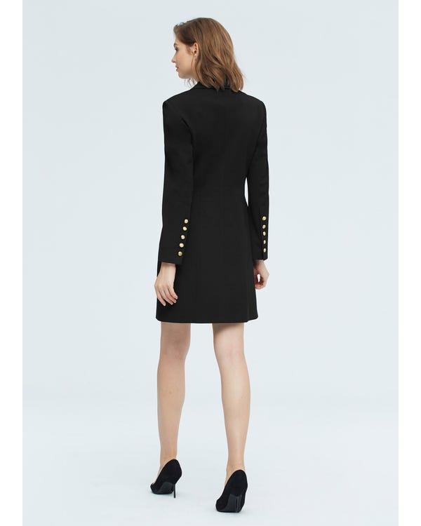 Timeless Silk Lined Dress Blazer-hover