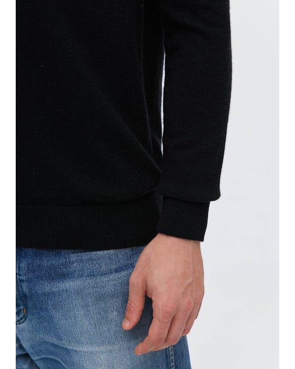 「返品交換不可」メンズ Vネック カシミア セーター S-hover